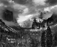 Ansel Adams. Clearing Winter Storm, Yosemite National Park, CA, c1937