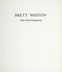 The Portfolios of Brett Weston - Volume 5 - Ten Photographs