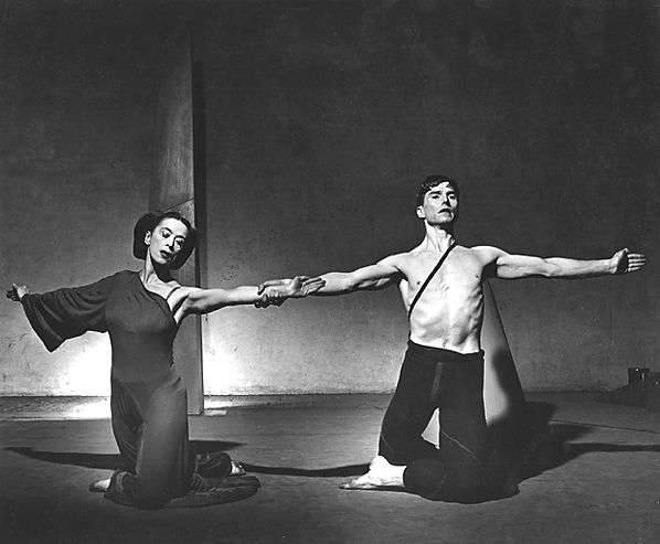 martha graham and erick hawkins relationship