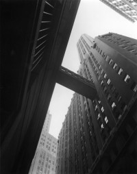 Berenice Abbott, Canyon Stone and William Streets, 1936