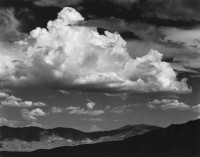 Ansel Adams - White Mountains from the Buttermilk Country, CA