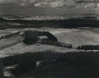 Ansel Adams, San Francisco From Television Park, San Bruno Mountain, 1945