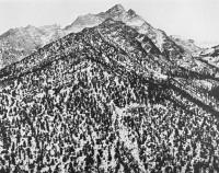Ansel Adams - Lone Pine Peak, Sierra Nevada, CA 1960