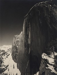 Ansel Adams, Monolith, The Face of Half Dome, Yosemite National Park, 1927