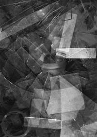 Ansel Adams - Glass Shards, Los Angeles, 1919