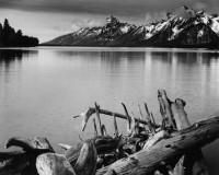 Ansel Adams, Jackson Lake and the Tetons, Grand Teton National Park, 1942