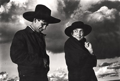 Ansel Adams, Georgia O'Keeffe and Orville Cox 1937