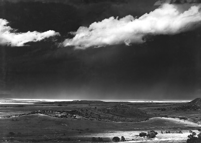 Ansel Adams, The Edge of the Great Plains, Cimmaron, New Mexico, 1961