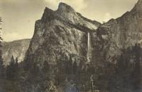 Carleton Watkins - Bridal Veil Falls, Yosemite, 1881