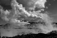 Michele Clement, Iceland, Geothermal Plant, 2006
