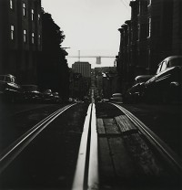 Ruth Bernhard, Cable Car Tracks, California Street, San Francisco, 1956