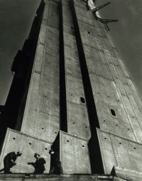 Horace Bristol, Workers on Golden Gate Bridge, 1936