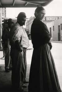 Frida at the Border, 1932