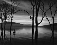 Brett Weston, Lake Patzcuaro, 1976