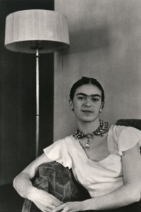 Frida by the Lamp, 1931