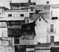 Brett Weston, Spanish Village, 1971