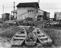 Brett Weston - Man in Boat, New York, 1944