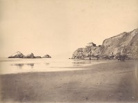 Carleton Watkins, Cliff House From The Beach, San Francisco, 1869