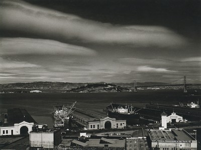 Philip Hyde, Piers and Waterfront, San Francisco, 1948