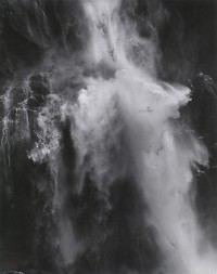 Pirkle Jones, Waterfall, Yosemite, 1968