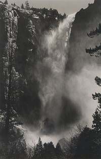 Ansel Adams, Bridal Veil Fall, Yosemite, California, circa 1927