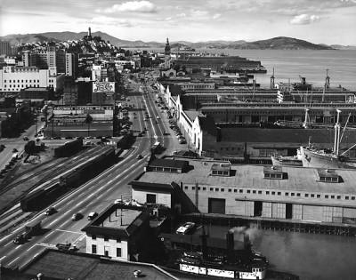 Max Yavno, Untitled, San Francisco Waterfront