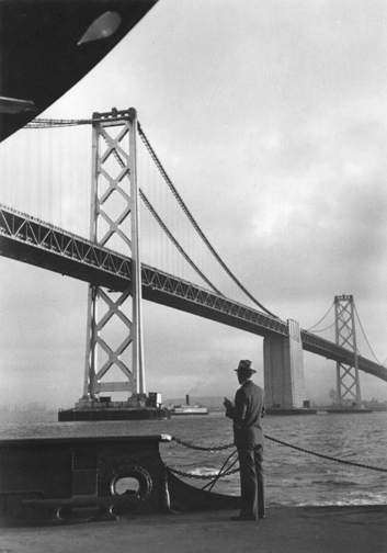 Peter Stackpole - Bay Bridge, 1935