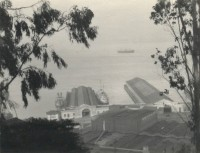 William Dassonville, View Of San Francisco Harbor, circa 1920's