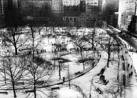 Barbara Morgan, Madison Square, New York City, 1938