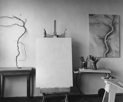 Todd Webb, O'Keeffe's Studio at Abiquiu House 1963