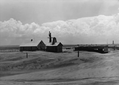 Dorothea Lange - Abandoned Farm, Cimmaron, OK, 1937