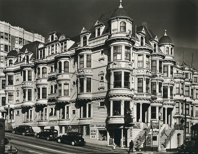 Max Yavno, Corner of Eddie and Franklin, San Francisco, 1947