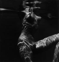 Brett Weston, Underwater Nude, 1981