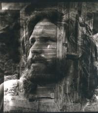 Jim Morrison With Old Barn, Cripple Creek, Colorado, 1969