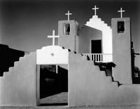 Morley Baer, Mission Church, Taos Pueblo, New Mexico 1973