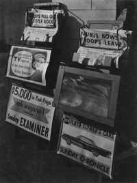 Phil Palmer - News Racks, San Francisco, 1956