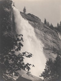 William Dassonville, Nevada Falls, Yosemite Valley, circa 1905