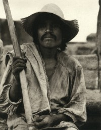 Paul Strand, Man with a Hoe, Los Remedios, 1933