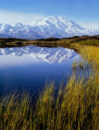 Philip Hyde, Mt. Denali, Reflection Pond, Denali National Park, Alaska, 1971