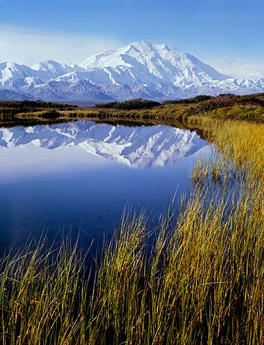 Philip Hyde, Mt. Denali, Reflection Pond, Denali National Park, Alaska, 1971