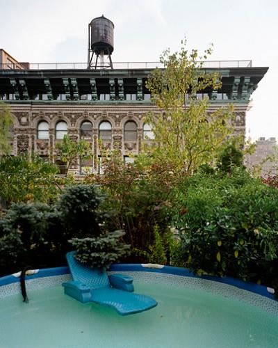 Brad Temkin, Blue Pool, Soho, New York, City