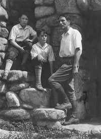 Robinson Jeffers and Boys circa 1934