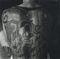 Horace Bristol, Tatooing Detail of Back, Japan, 1946