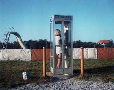 John Goodman, Phone Booth, Turro, From Not Recent Color, 1980