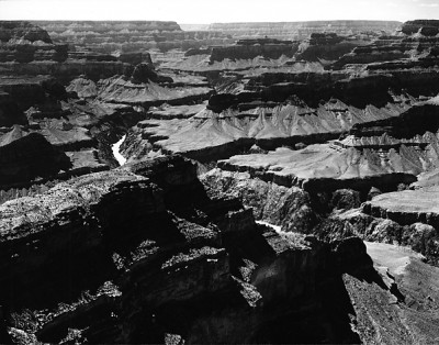 Ansel Adams, Grand Canyon National Park, West from Mojave Point, Arizona 1947