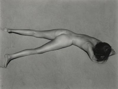 Edward Weston, Nude, (Charis on Dunes), Oceano. 1936