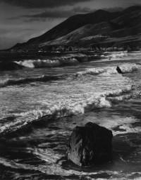 Morley Baer, Winter Surf, Garrapata, Sur Coast, 1966