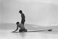 Ron Chuch, Two Young Surfers, Banzai Pipeline, 1963