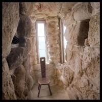 Una's sitting room, Hawk Tower, Carmel-by-the-Sea