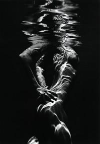 Brett Weston, Underwater Nude, circa 1980